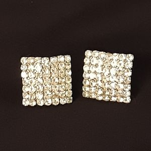 CZ Pierce posted Square earrings